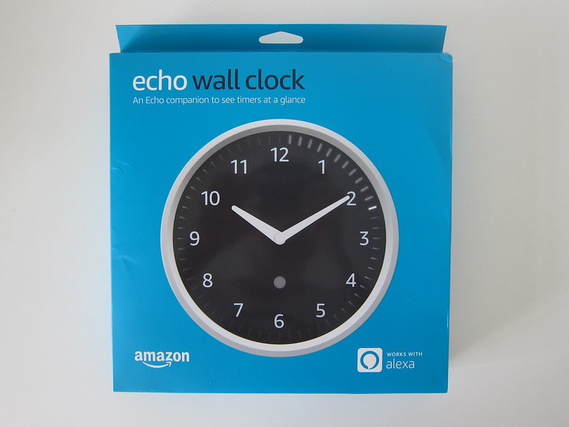 Amazon Echo Wall Clock -  Box Front