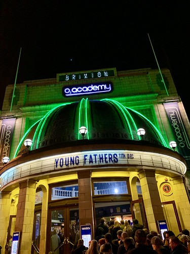 Young Fathers at Brixton Academy