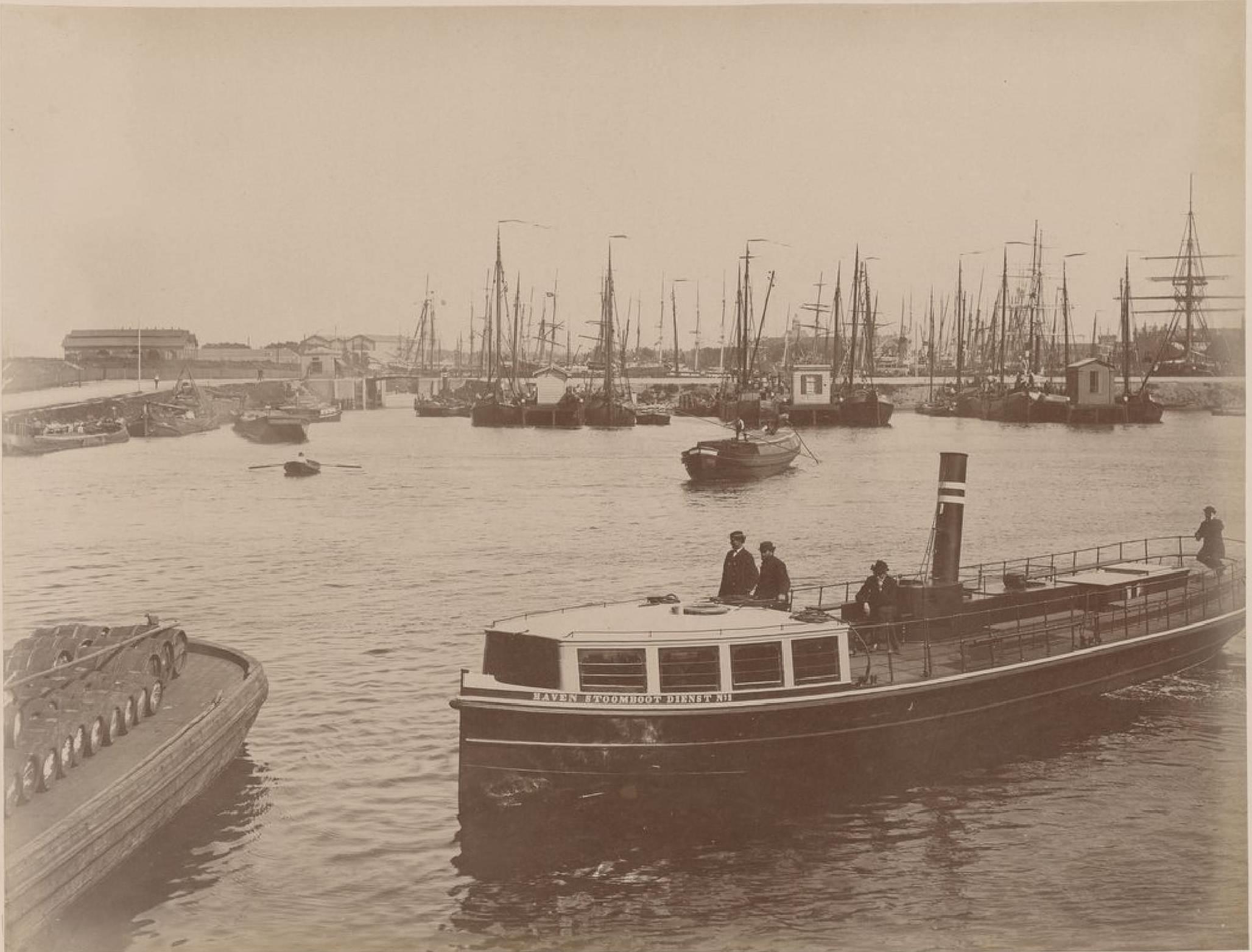 Амстердам. Доки, 16 мая 1888 года