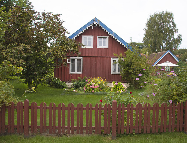 Photo:Curonian  Cottage, Curonian Spit, Lithuania By A.Davey