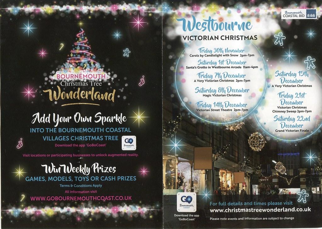 Christmas Tree Wonderland Bournemouth Coastal Bid.Victorian Christmas 2018 Westbourne Bournemouth Dorset