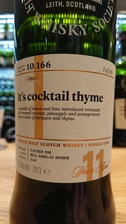 SMWS 10.166 - It's cocktail thyme