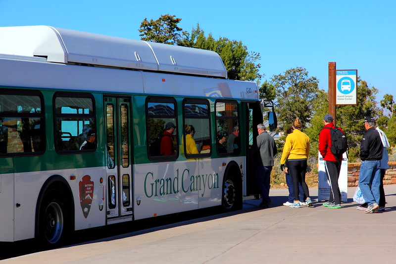 IMG_3062 Shuttle Bus, Grand Canyon National Park