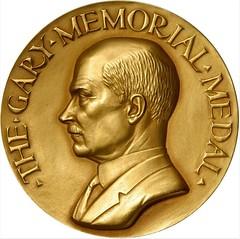 Manship Gary Memorial Medal Obverse