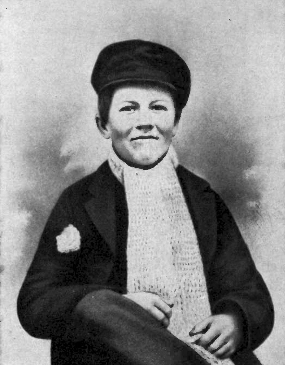 Photos of Thomas Edison as a young boy.