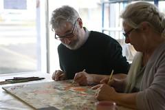 Atelier créatif proposé aux bénéficiaires de minima sociaux