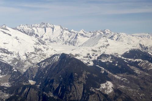 Grosses Fiescherhorn Gross Grünhorn Aletschgletscher Riederalp Bettmeralp Switzerland