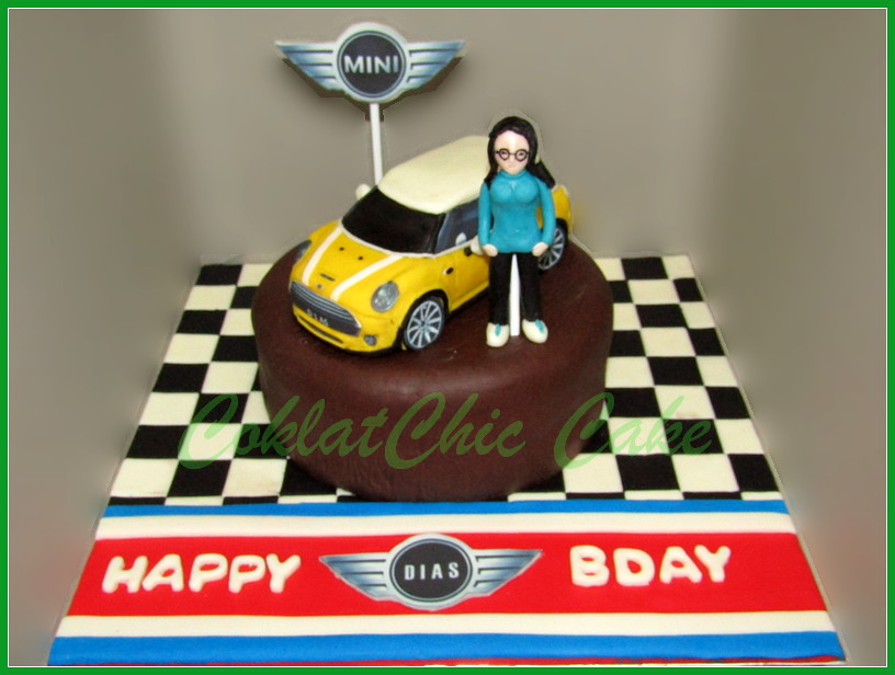 Cake Minicooper DIAS 18 cm