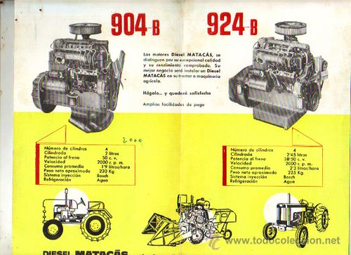 Motors 904 i 954b Matacàs