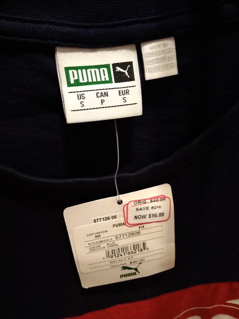 Puma T-shirt $11.2