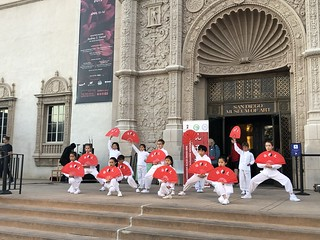 """March 15 '19 CISDSU Participated in """"On the Steps"""" at SD Museum of Arts"""