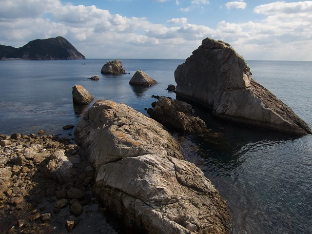 Coastal scenery of Tsurumi, Canon POWERSHOT S100