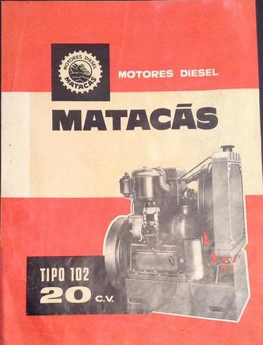 Motor dièsel Matacàs 20 cv