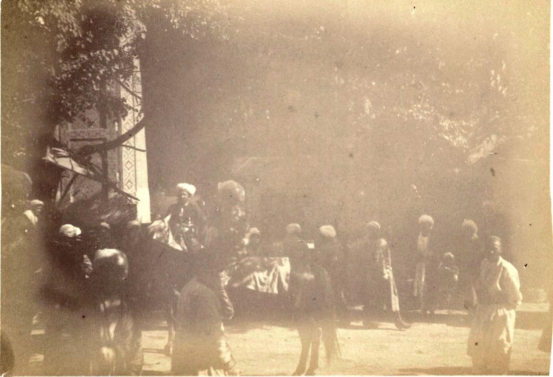 20. Бухара. Мечеть справа от крытого базара