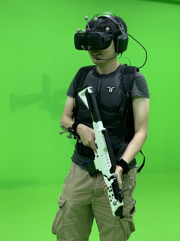Sandbox VR (Singapore) - Equipped - Front