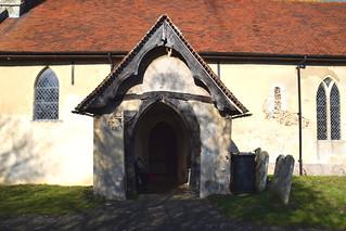 14th Century porch