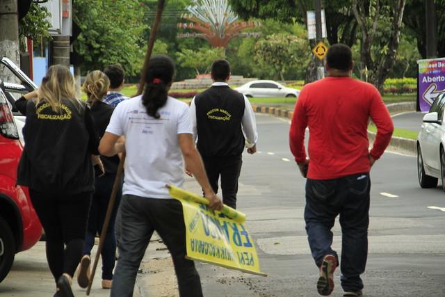 """Prefeitura realiza terceira operação """"Manaus Mais limpa"""""""