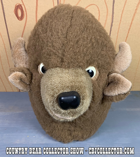 1992 Tokyo Disneyland Buff Plush - Country Bear Collector Show #193