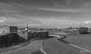 SOUTHSEA CASTLE AND LIGHTHOUSE | by mark_rutley