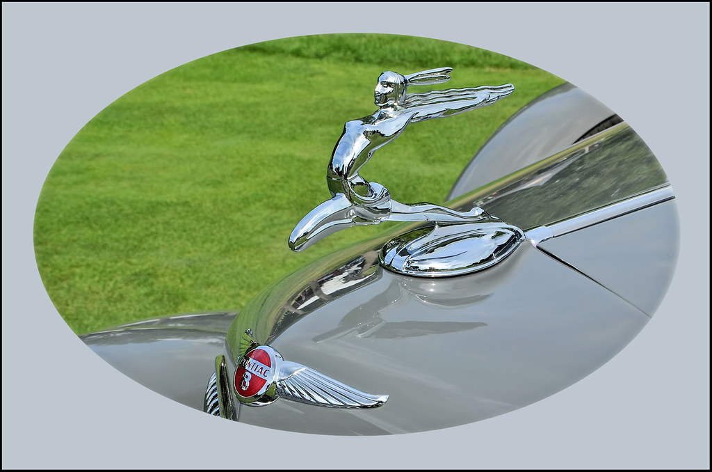 1934 Pontiac Leaping Indian Maiden Hood Ornament - Download