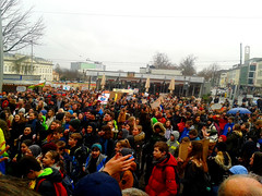 Abschlusskundgebung am Opernplatz