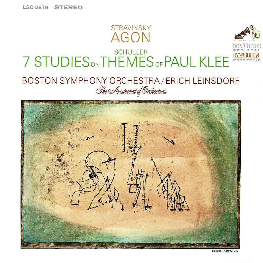 Igor Stravinsky - Agon, 7 Studies on Themes of Paul Klee