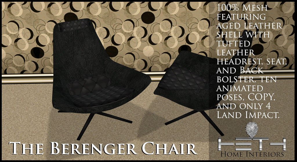 HHI – Berenger Chair POSTER