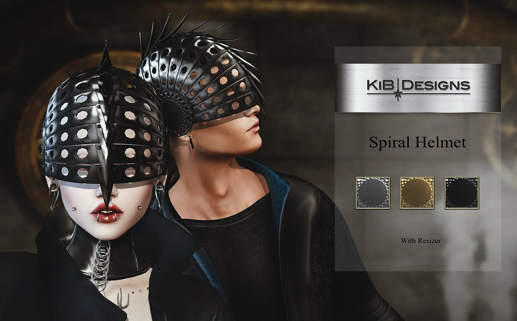 KiB Designs – Spiral Helmet @Darkness Event