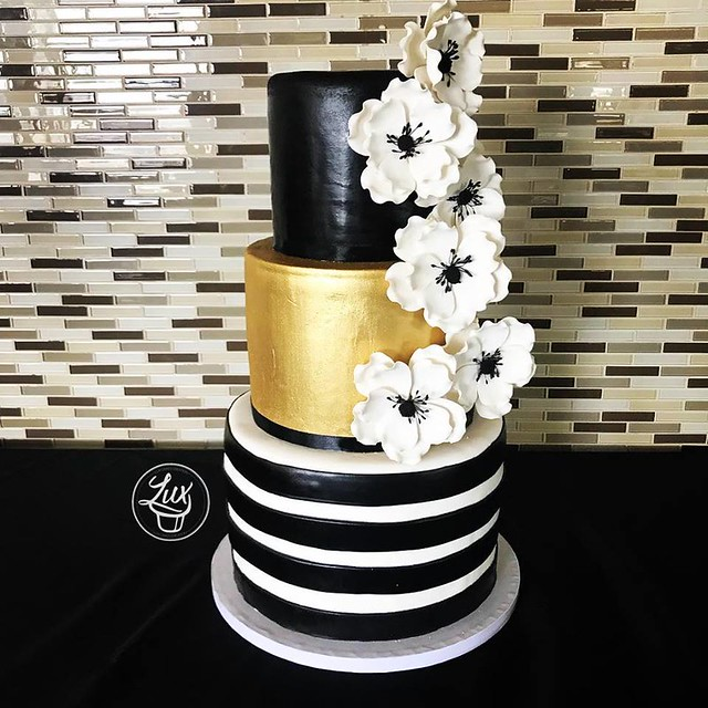 Bridal Shower Cake by Lux Cakes