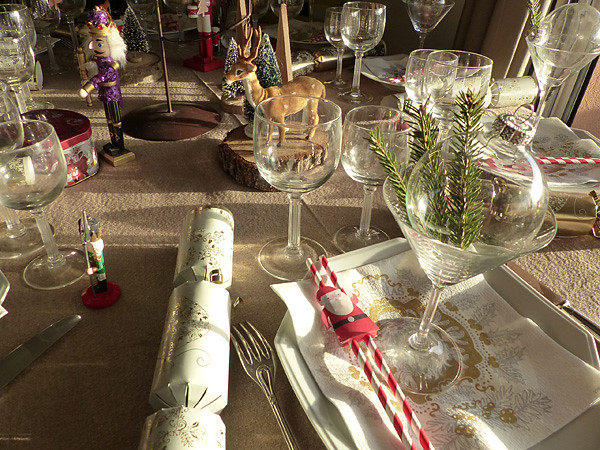 table de Noël 1