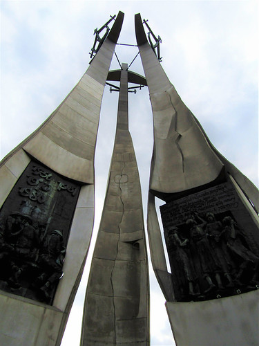 Monument of the Fallen Shipyard Workers in Gdansk