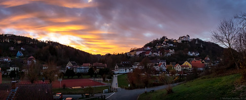 Sunset at Egloffstein