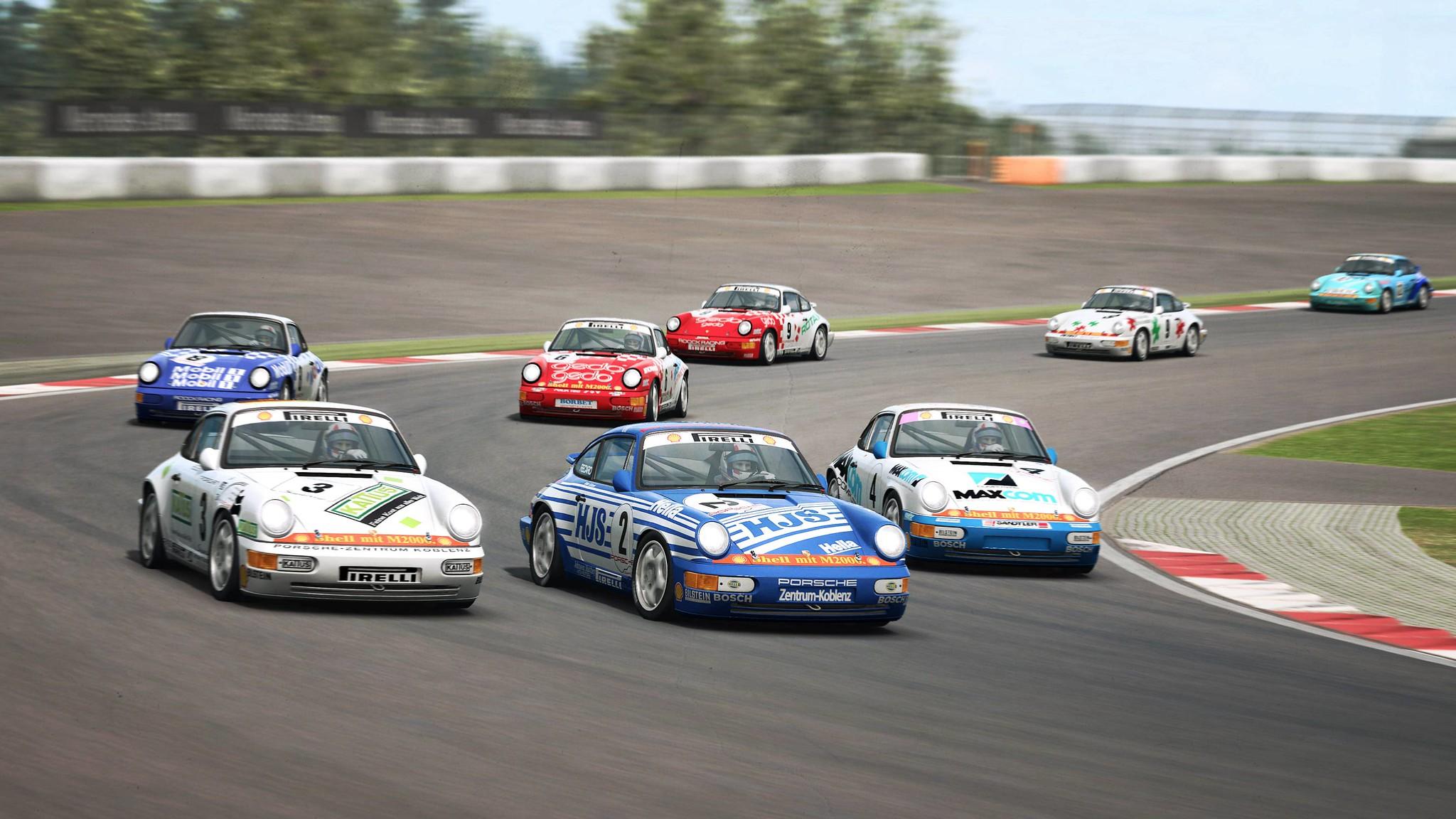 RaceRoom Porsche 911 Carrera Cup 7