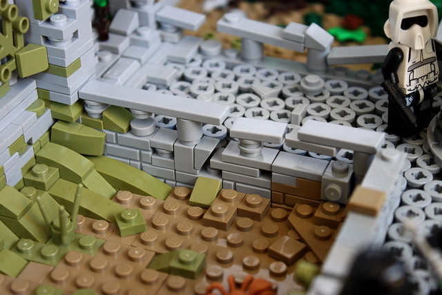 Pathway on my Yavin 4 MOC