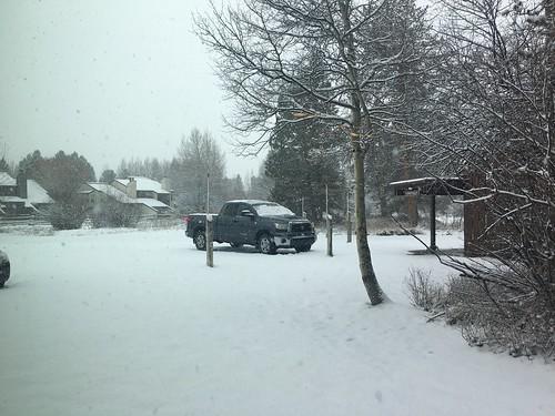 early season snowfall