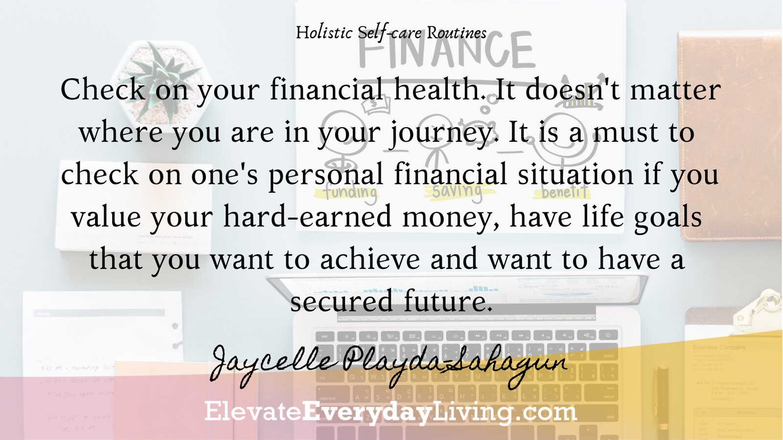Check on your financial health