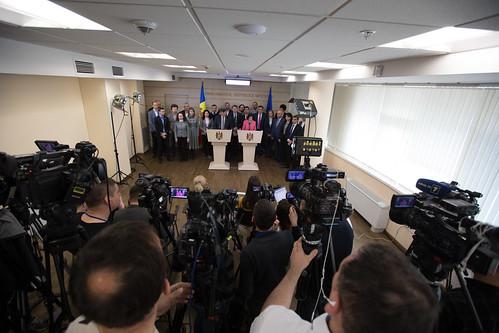 26.03.2019 Conferința de presă a Blocului politic ACUM