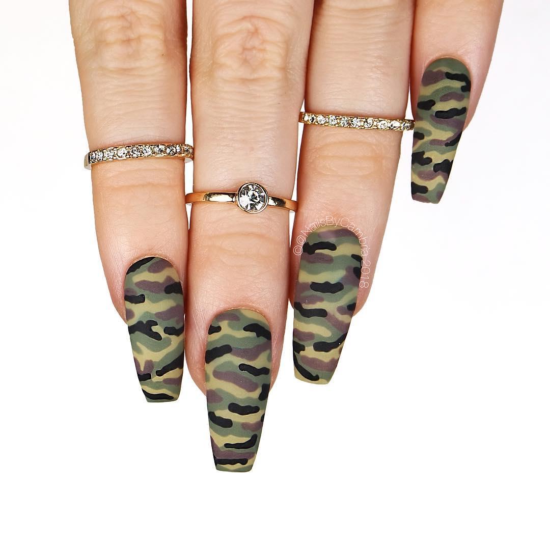 Beautiful Nail Art Designs 2019 Just For You - Fashionre