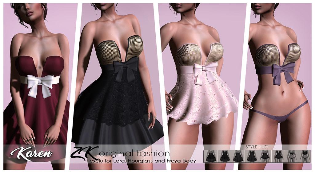 -:zk:- Karen Dress&Panty@cosmopolitan event