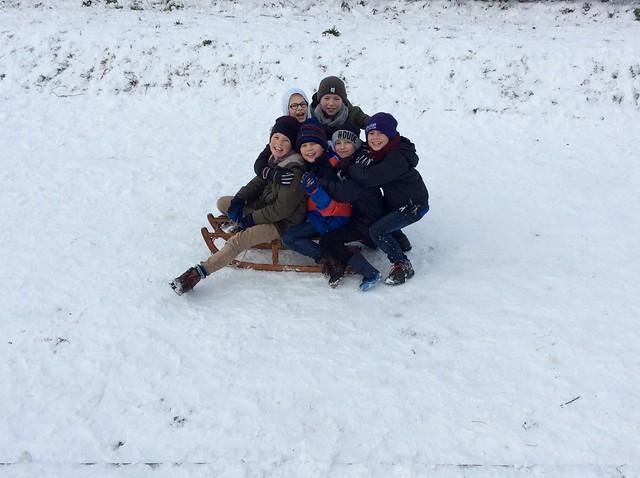 Klas 4: Sneeuwpret Deel 2