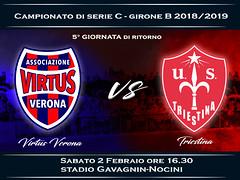 Virtus Verona - Triestina 3-4 FINALE
