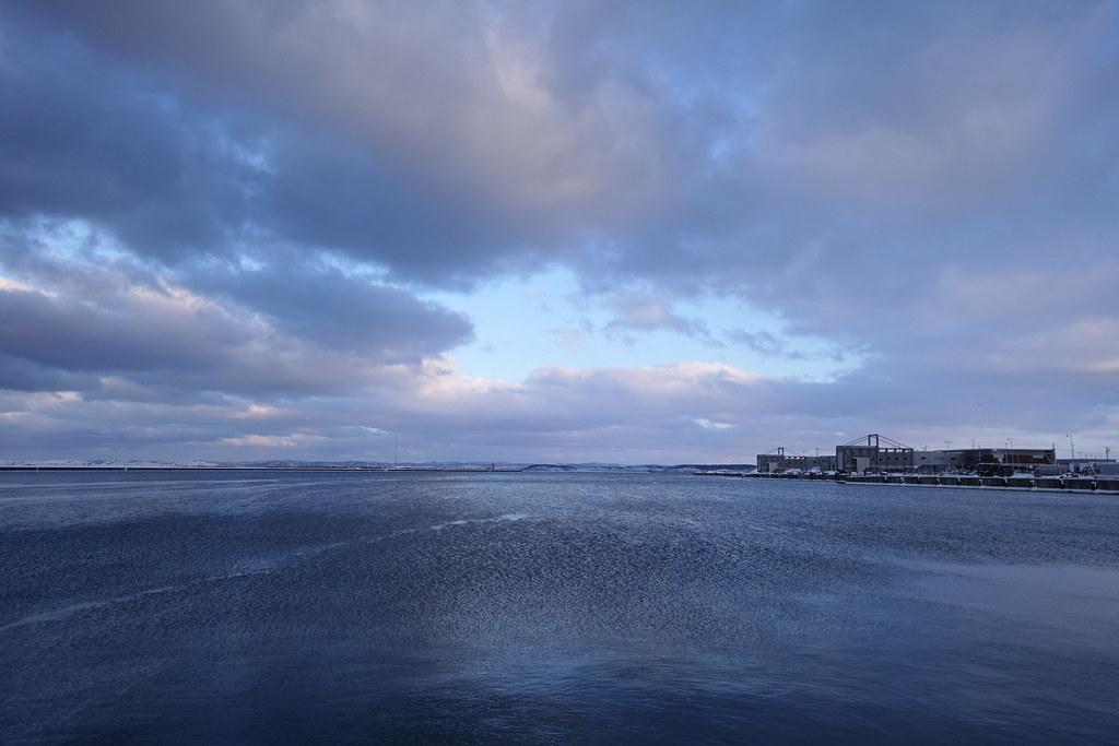 Good Evening Wakkanai City. February 10, 2019