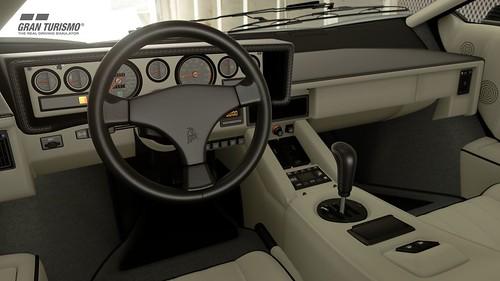 Lamborghini Countach Cockpit