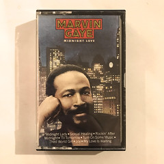 MARVIN GAYE:MIDNIGHT LOVE(CT)(JACKET A)