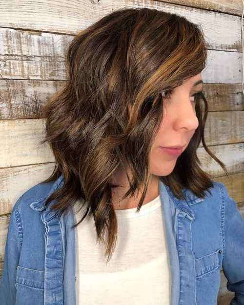 Medium Layered Haircuts & Hairstyles