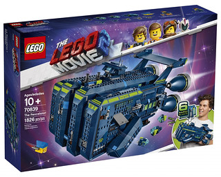 樂高真的無極限,新作竟然是超狂拳套?! LEGO 70839《樂高玩電影2》The Rexcelsior 賞你一拳LEGO PUNCH!!