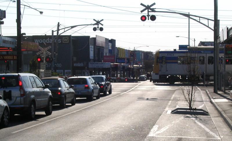 Bentleigh level crossing 16/2/2009