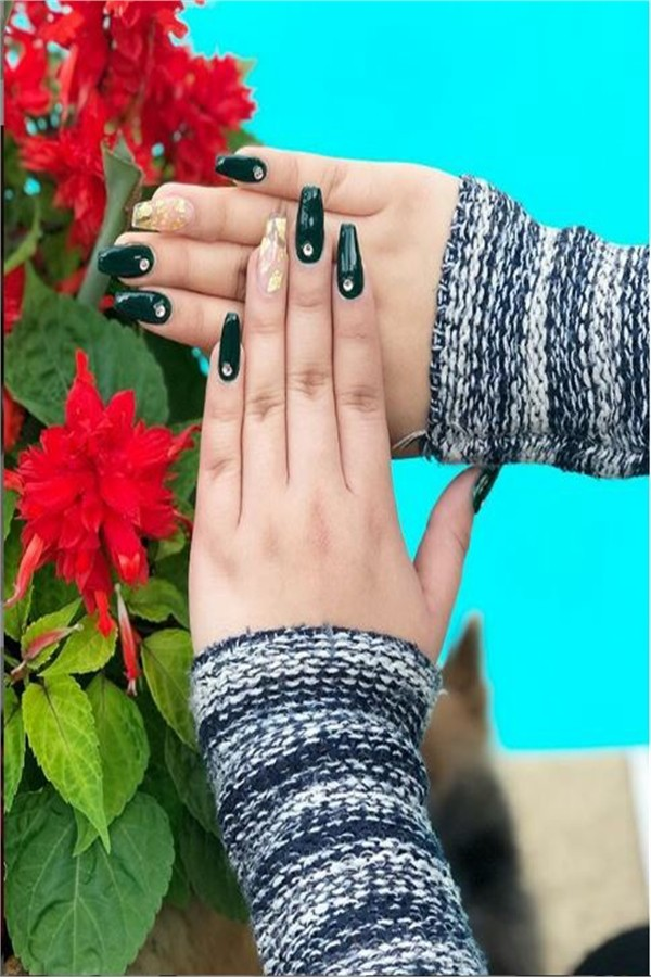 The Most Creative Ideas for Acrylic Nails 2019 #nail_art_designs #winter_nails #acrylic_nails