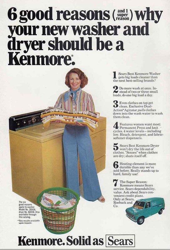 Sears Kenmore 1976