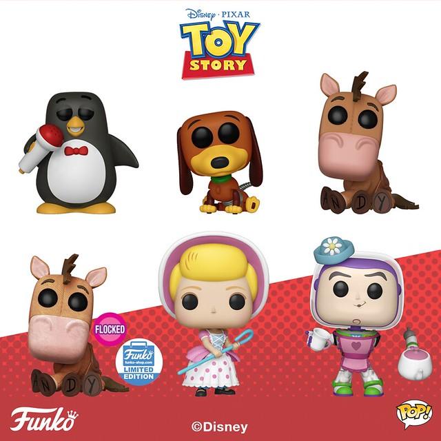 Funko Pop! Vinyl《玩具總動員》Toy Story - Pop!, Pop! Ride and Pocket Pop! Keychain 多款作品公開!